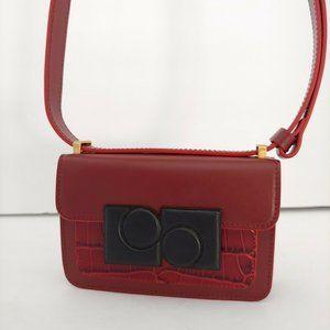 Ports 1961 Anika Mini Crossbody Bag Calf Leather B